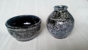 Пиала и вазочка